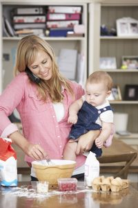 Back care advice for mothers from our London Chiropractor